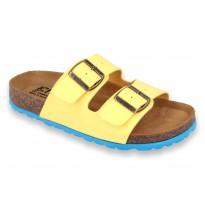 Biox Aston Klapki medyczne korkowe żółte