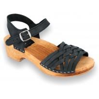 V-Black sandały czarne