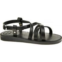 Sandały Gokke skórzane czarne