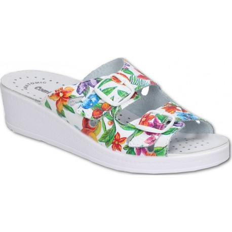 Comfooty Mia Flower medical clogs