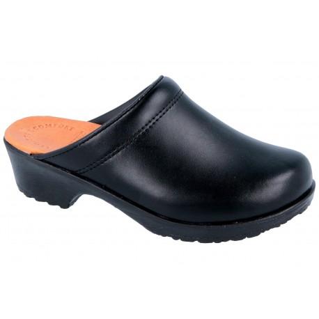 Comfort Flex chodaki spody guma PU czarne