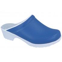 Comfort Flex-Air chodaki spody guma PU błękit